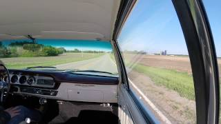1964 Pontiac GTO Tripower, countryside ride in our fresh restoration
