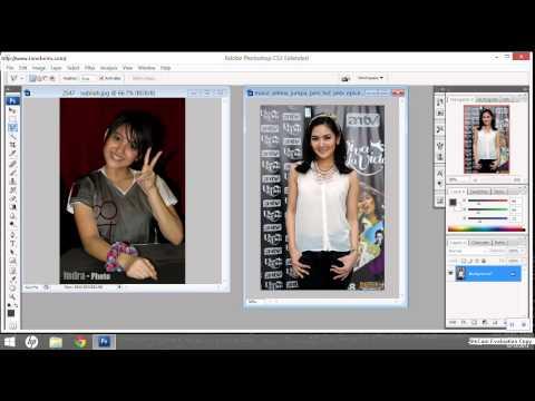 Membuat Foto Tembus Pandang Dengan Photoshop