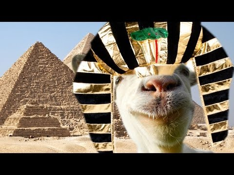 Modded Goat Simulator Pharaoh Goat Youtube