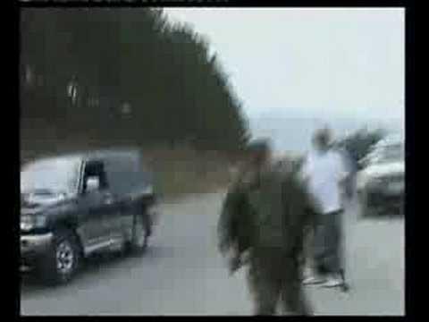 Ossetian bandit shooting Georgian journalist