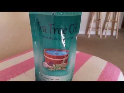 TEA TREE OIL FOOT BATH SALTS – REVIEW