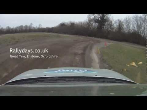 Rally Days Great Tew Enstone Oxfordshire Rally School