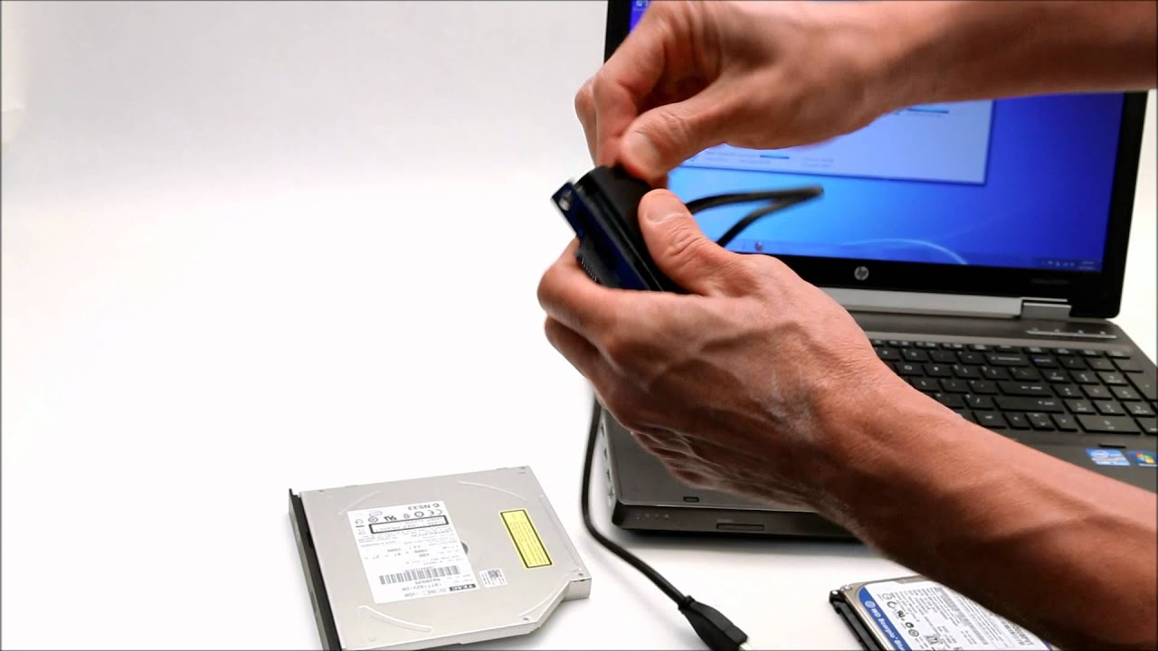DVD Optical drive Slim Line SATA to USB 3 adapter cable - YouTube