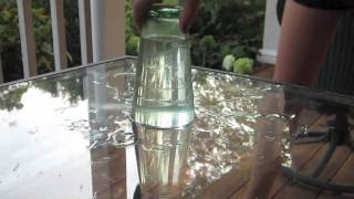 Floating Water Trick!