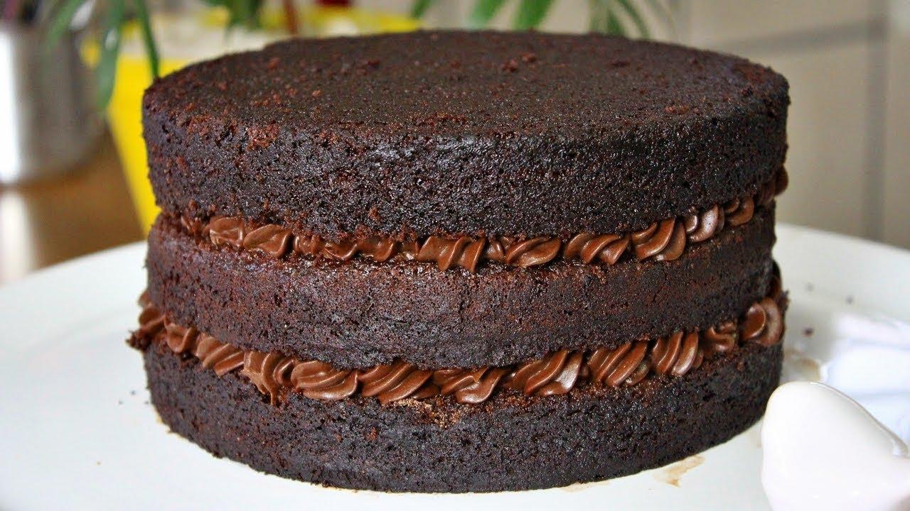 Massa De Chocolate Profissional Para Bolo De Aniversário Menino