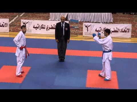 Qətər, Doha. 3-cü beynəlxalq turnir. Firdovsi Fərzəliyev -60 kq, final