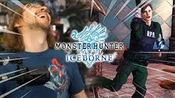 WHAT ARE YOU DOING LEON?! RE2 X Monster Hunter World