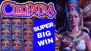 Fort Knox CLEOPATRA Slot Machine Max Bet Bonus SUPER BIG WIN | Live Slot Play | Happy 4th Of July