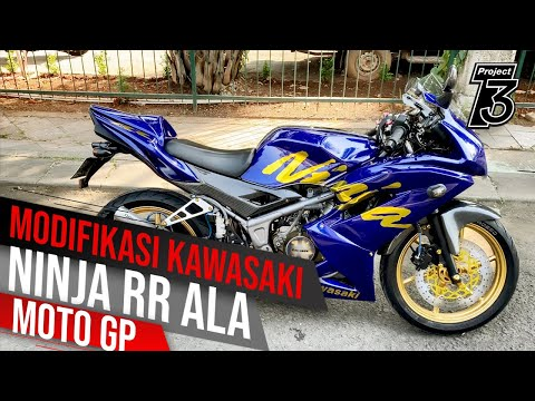 Modifikasi Kawasaki Ninja 150 RR ala Racing look, Simple namun elegant