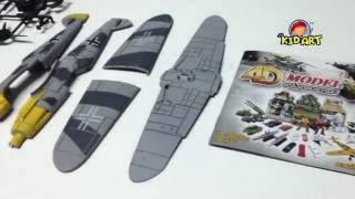 วิธีการประกอบโมเดลเครื่องบิน BF-109
