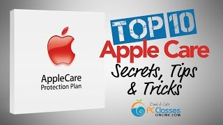 TOP 10 Apple Care Secrets, Tips, and Tricks(We believe Apple Care is something that every Mac owner should have, but there's a lot you should know about what it covers, what it does not cover, and how ..., 2015-08-08T04:13:47.000Z)