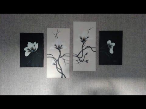 простые рамки для полотна своими руками