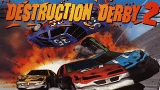 Classic Game Room - DESTRUCTION DERBY 2 review for PlayStation