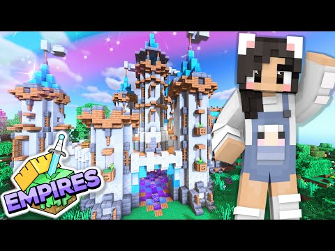 💙Building My Castle! Empires SMP Ep.6 [Minecraft 1.17 Let's Play]