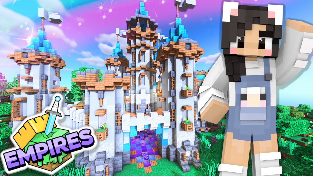 Download 💙Building My Castle! Empires SMP Ep.6 [Minecraft 1.17 Let's Play]