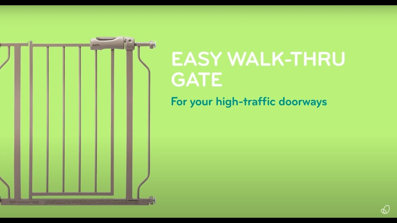 Ворота безопасности Evenflo Easy Walk-Thru