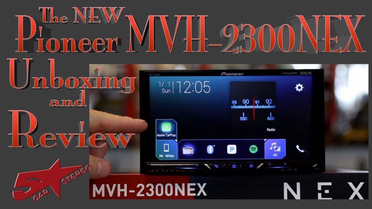 pioneer 2300nex. Pioneers New MVH 2300NEX CarPlay And Android Auto Radio Unboxing Review Pioneer 2300nex 9