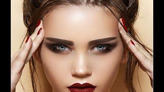 ♚Модный макияж♚Макияж с темной помадой-губы цвета Марсала♚(Видео урок: Модный макияж-Макияж с темной помадой-губы цвета Марсала. Для вечернего макияжа идеальным вари..., 2015-09-03T06:48:01.000Z)