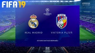 FIFA 19 - Real Madrid vs. Viktoria Plzen @ Estadio Santiago Bernabéu