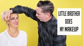 Little Brother Does My Makeup- Chrisspy Thumbnail