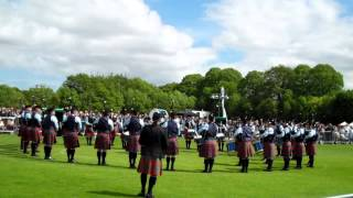 Field Marshal Montgomery Pipe Band, Belfast 2015