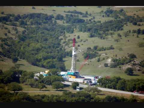 Barnett Shale: An Aerial View