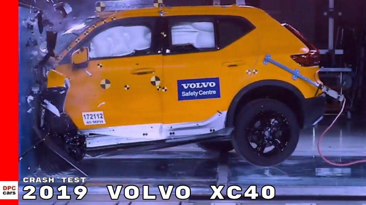 2019 volvo xc40 crash test youtube. Black Bedroom Furniture Sets. Home Design Ideas