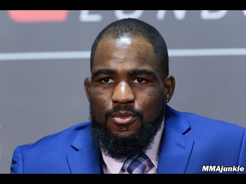 Press conference archive UFC Fight Night 107's Corey Anderson