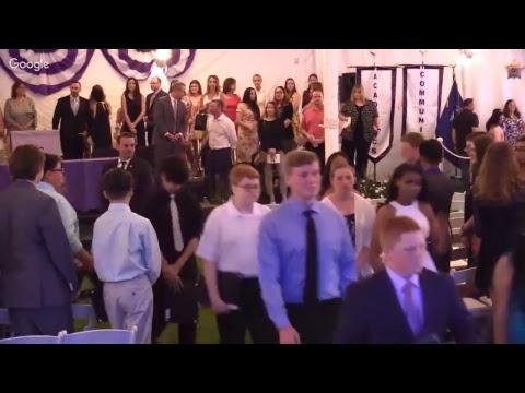 Hampton Bays Middle School - Moving Up Ceremony