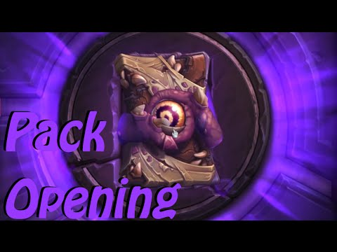 Hearthstone: Pack Opening - WoToG and GvG