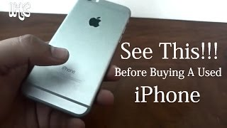 6 Things You Should See Before Buying A Used iPhone { Checklist }