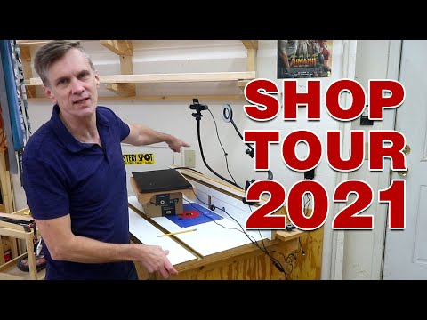 SHOP TOUR 2021. Does your shop need some upgrades?