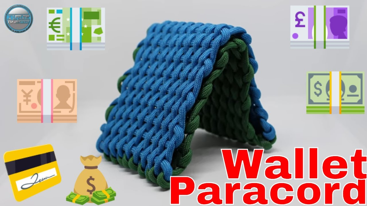 how to make a paracord wallet for bigginere