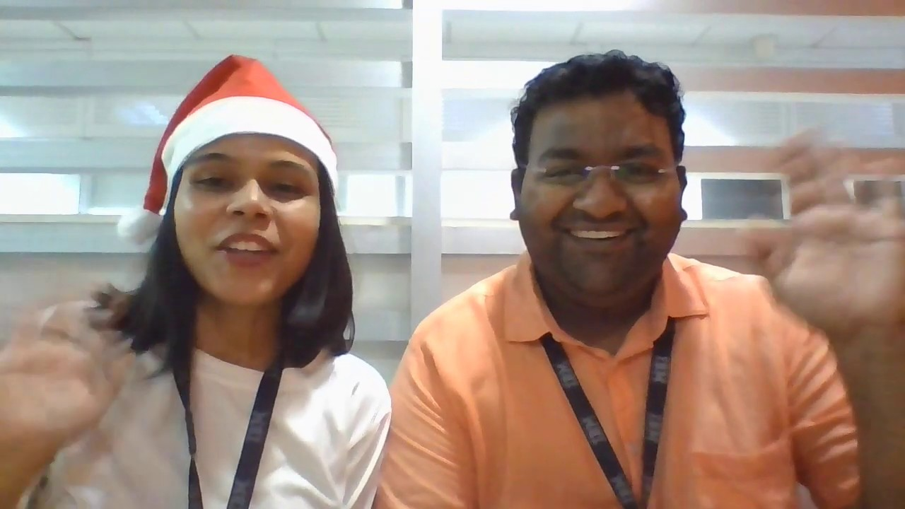 Have yourself a merry little Christmas song feat. Mohit and Vini - YouTube