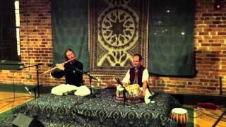 Daniel Chambo on Bansuri flute, Raga Yaman