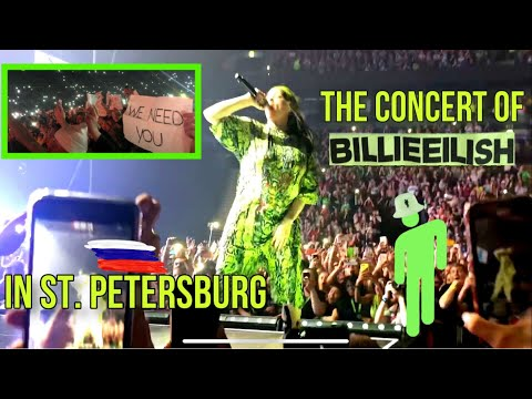 The Concert Of BILLIE EILISH In Russia // She Went On Stage In The KOKOSHNIK