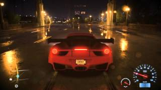 Need For Speed Ferrari 458 Italia (2009) PS4 Gameplay