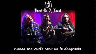 Korn y Amy lee - freak on a leash subtitulada al español