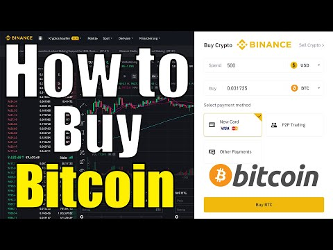 How to Buy Bitcoin on Binance (0.1% Fees) Tutorial ✔️ with Credit Card / Bank Transfer / Debit Card