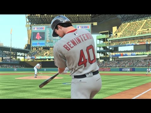 MLB 16 The Show | Andrew Benintendi Hits A Home Run In His MLB Debut!