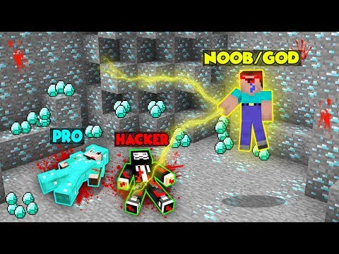Minecraft Battle: WAR FOR DIAMONDS CHALLENGE! NOOB Vs PRO Vs HACKER Vs GOD In Minecraft Animation