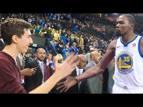 KEVIN DURANT APOLOGIZED TO ME!! NOT CLICKBAIT