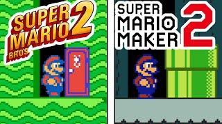 Can you Remake Super Mario Bros 2 in Super Mario Maker 2?