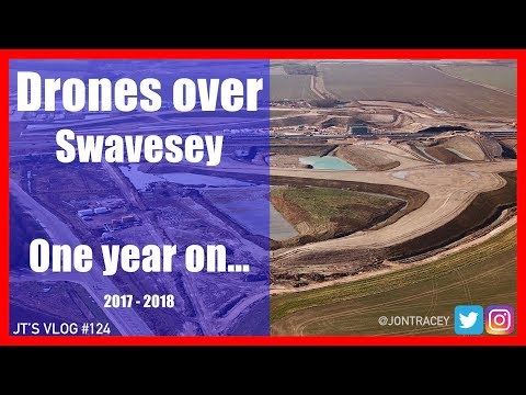 Building the new A14 (Swavesey nr Cambridge)  - 2017 -2018 a lots been done