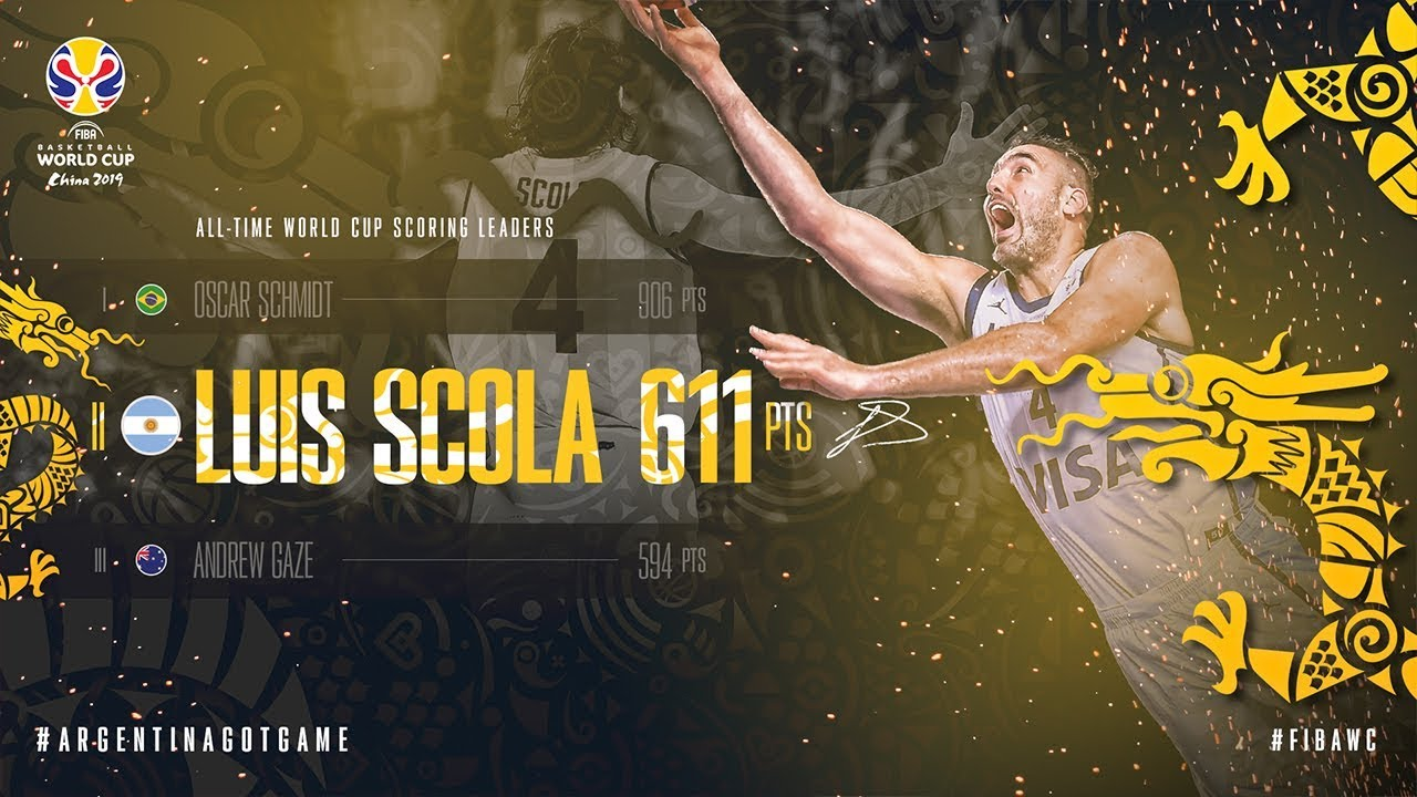 Luis Scola is the #2 All