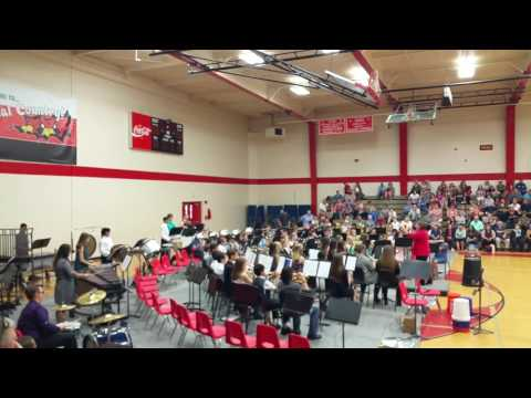 Bridge City Middle School Honor Band - The Incredibles