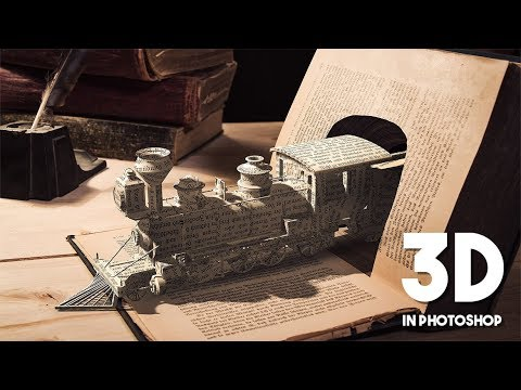 Create Photo Manipulation Using a 3D Model in Photoshop