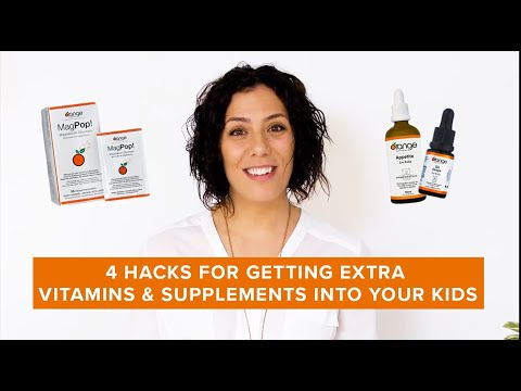 4 Hacks For Getting Extra Vitamins & Supplements Into Your Kids