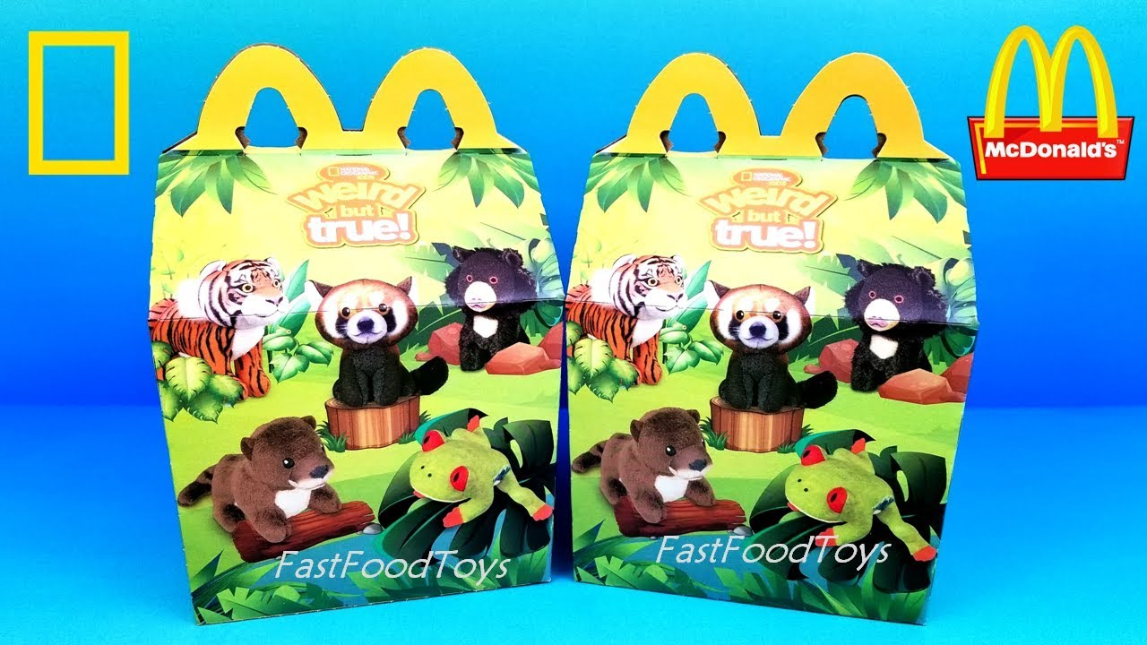 Next Mcdonalds Happy Meal Toys National Geographic Kids Weird But True Box Hasbro Gaming Usa