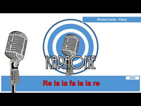 Rhoma Irama - PIANO - Karaoke Lirik